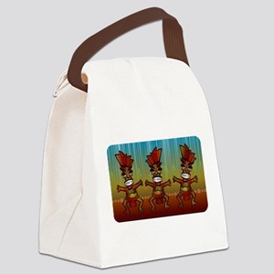 Tiki Men Canvas Lunch Bag