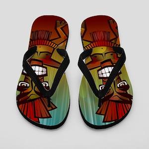 Tiki Men Flip Flops