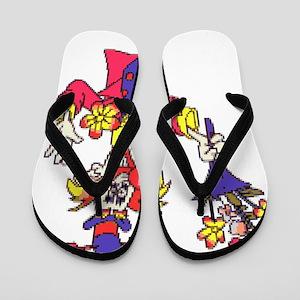 Clown Flip Flops
