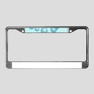 Swimmer Penguin Swimming License Plate Frame