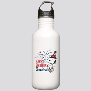 Snoopy - Happy B-Day A Stainless Water Bottle 1.0L
