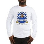 Pierrepont Family Crest Long Sleeve T-Shirt