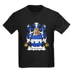 Pierrepont Family Crest Kids Dark T-Shirt