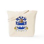 Pierrepont Family Crest Tote Bag