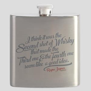 Nashville Whiskey Quote Flask