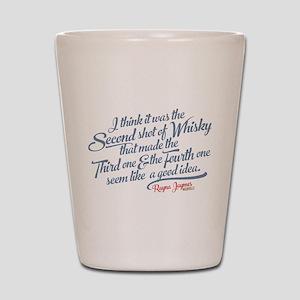 Nashville Whiskey Quote Shot Glass