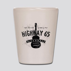 Highway 65 Records Nashville Shot Glass