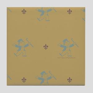 Monopoly Dancing Rich Uncle Pennybags Tile Coaster