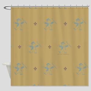 Monopoly Dancing Rich Uncle Pennyba Shower Curtain
