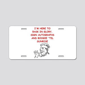 chefs and cooks Aluminum License Plate