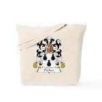 Picher Family Crest Tote Bag