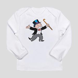 Monopoly Dancing Rich U Long Sleeve Infant T-Shirt