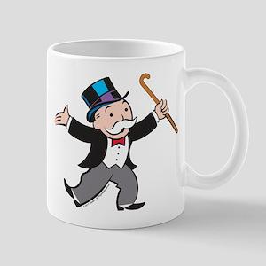 Monopoly Dancing Rich Uncle Penn 11 oz Ceramic Mug