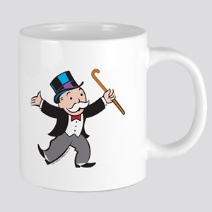 Monopoly Dancing Rich Uncle 20 oz Ceramic Mega Mug