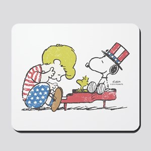 Snoopy - Vintage Schroeder Mousepad