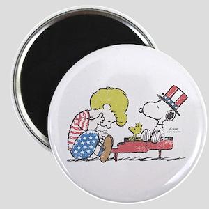 Snoopy - Vintage Schroeder Magnet