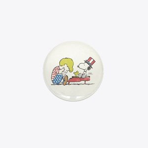 Snoopy - Vintage Schroeder Mini Button