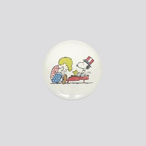 Snoopy - Vintage Schroeder Mini Button