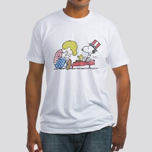 Snoopy - Vintage Schroeder Fitted T-Shirt