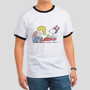 Snoopy - Vintage Schroeder Ringer T