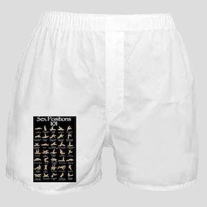 Sex Positions 101 Boxer Shorts