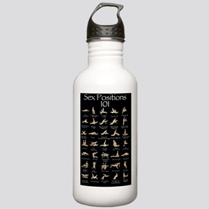 Sex Positions 101 Stainless Water Bottle 1.0L
