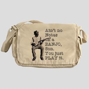 "Bold ""Ain't No Notes on a Banjo"" Messenger Bag"