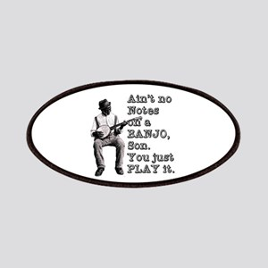 "Bold ""Ain't No Notes on a Banjo"" Patch"