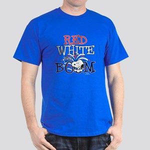Snoopy - Red White & Boom Dark T-Shirt