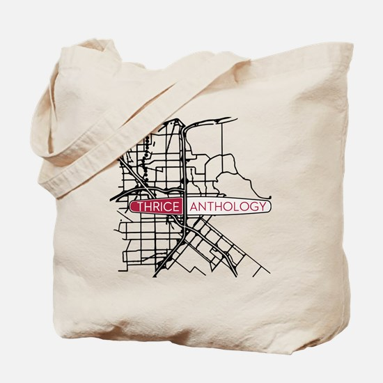 Thrice Tote Bag