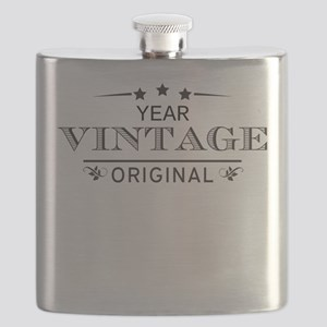 Personalized Birthday Vintage Original Flask