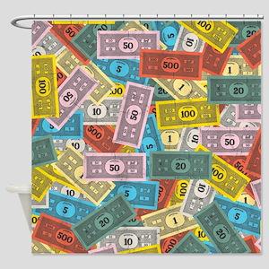 Monopoly logo Shower Curtain