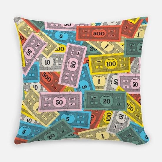 Monopoly logo Everyday Pillow