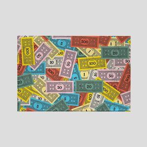 Monopoly logo Rectangle Magnet