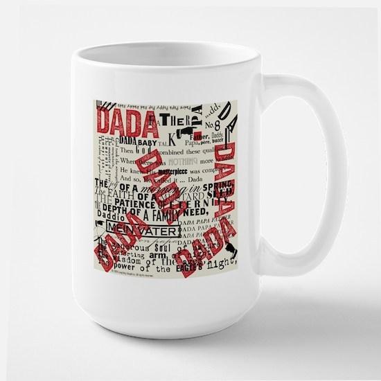 DADA Day, type Large Mug