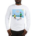 Summer Ice Fishing Long Sleeve T-Shirt