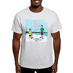Summer Ice Fishing Light T-Shirt