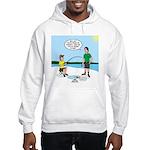 Summer Ice Fishing Hooded Sweatshirt