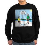 Summer Ice Fishing Sweatshirt (dark)