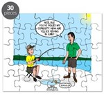Summer Ice Fishing Puzzle