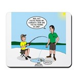 Summer Ice Fishing Mousepad