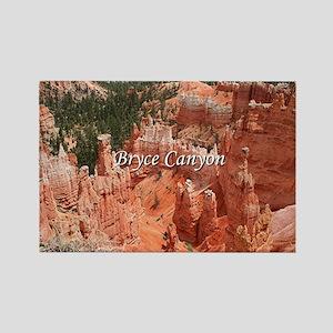 Bryce Canyon, Utah, USA 16 (capti Rectangle Magnet
