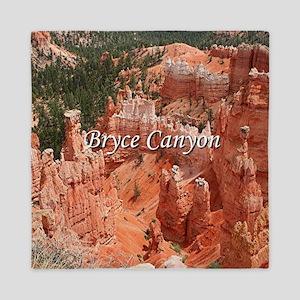 Bryce Canyon, Utah, USA 16 (caption) Queen Duvet