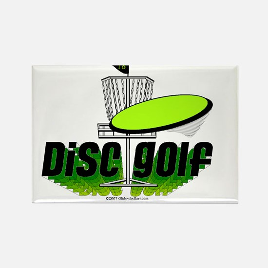Dics Golf Rectangle Magnet (10 pack)