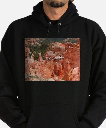 Bryce Canyon, Utah, USA 16 (caption) Hoodie (dark)