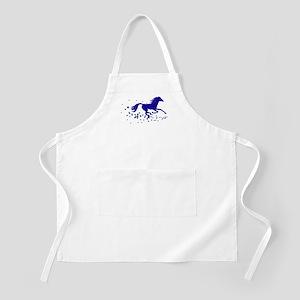Blue Stars Pony BBQ Apron
