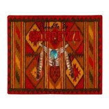 Chippewa indians Fleece Blankets