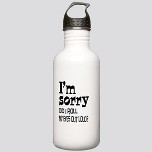 Roll My Eyes Stainless Water Bottle 1.0L