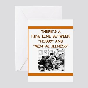 mistress joke Greeting Cards