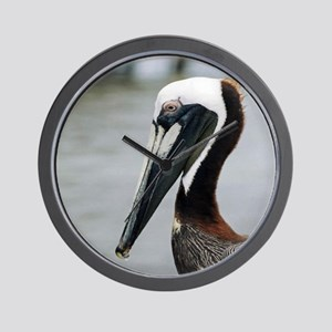The Pier Pelican Wall Clock
